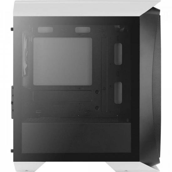 Gabinete Gamer Mini Tower Aero One Mini Frost Branco AEROCOOL