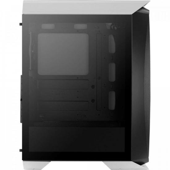 Gabinete Gamer Mid Tower Aero One Branco AEROCOOL