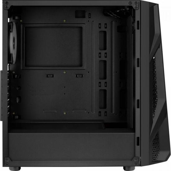 Gabinete Gamer Mid Tower Nighthawk Duo RGB Preto AEROCOOL