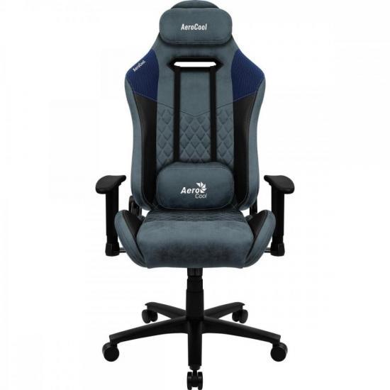 Cadeira Gamer Duke Steel Blue AEROCOOL