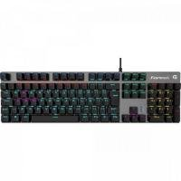 Teclado Gamer Mecânico RBW BLACK HAWK Dark Grey FORTREK