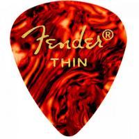 Palheta Celulóide Classic 351 Thin Tortoise Shell FENDER