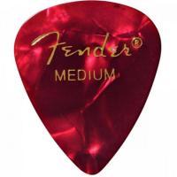 Palheta Celulóide Shape Premium 351 Medium Red Moto FENDER