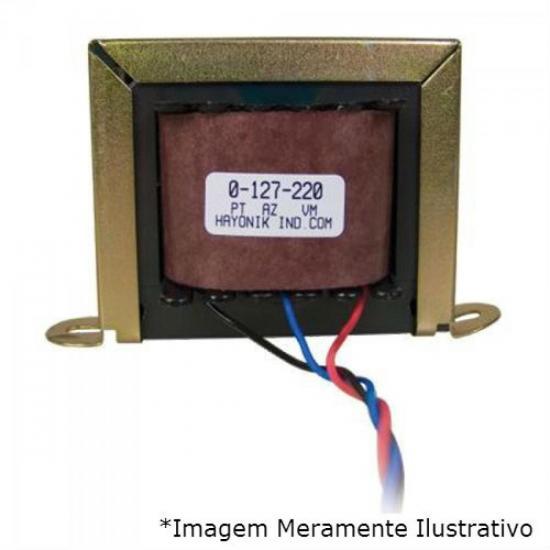 Transformador 12+12VAC 127/220VAC 220mA 12/600 HAYONIK