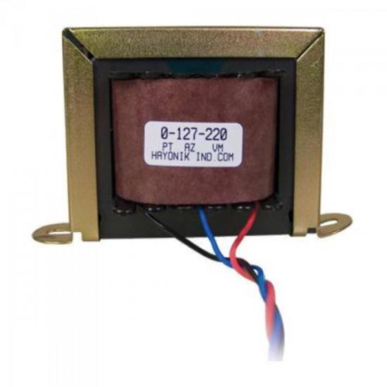 Transformador 18+18VAC 127/220VAC 400mA 18/1 HAYONIK