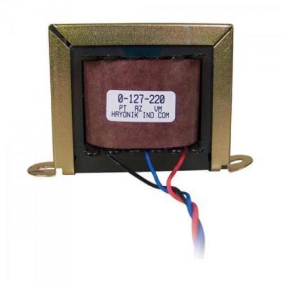 Transformador 6/1S 6VAC 127/220VAC 1A HAYONIK