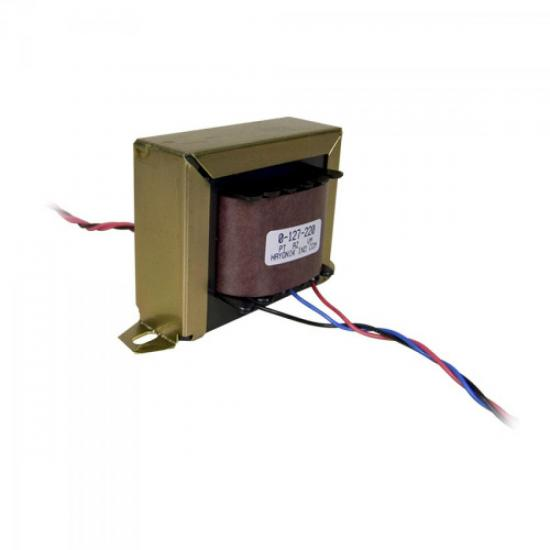 Transformador 9/6 9+9VAC 127/220VAC 5A HAYONIK
